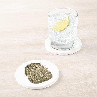 Golden King Tut Sandstone Drink Coaster