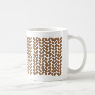 Golden Knitting Mug