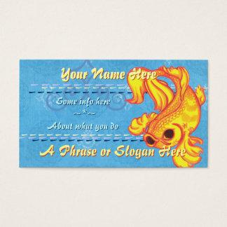 Golden Koi Business Cards