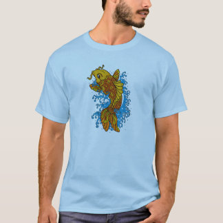 Golden Koi Men's Basic T-Shirt