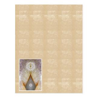 Golden KOOLshades DIY Healing CRYSAL Design Postcard