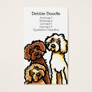 Golden Labradoodles Pet Business Cards