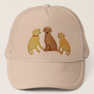 Golden Labrador Retrievers Hat