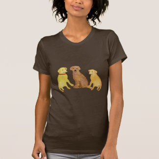 Golden Labrador Retrievers T-Shirts