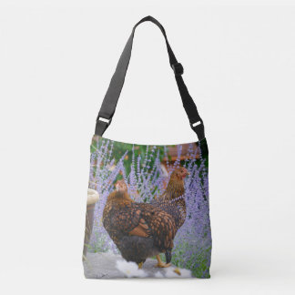 Golden Laced Hens Crossbody Bag
