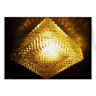 Golden Lantern Greeting Card