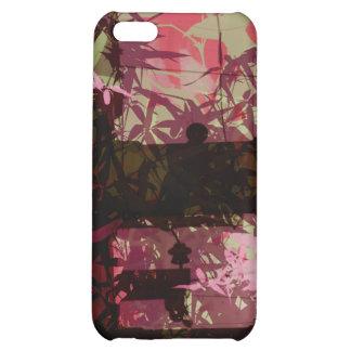 golden leaf bridge cover for iPhone 5C