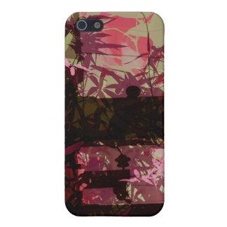 golden leaf bridge iPhone 5 cover