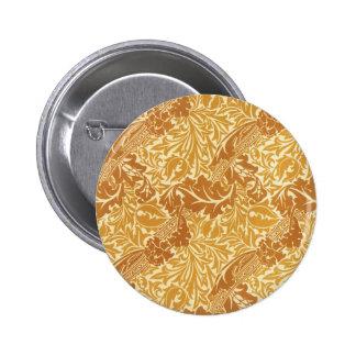 Golden Leaf Design Pin
