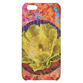 Golden Leaf Florals 2 iPhone 5C Cover