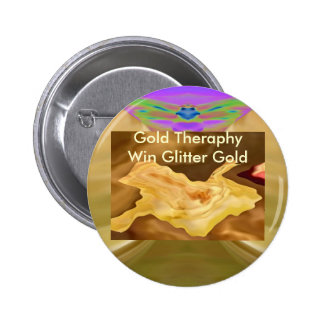 Golden Leaf - Gold Color Therapy Art Pin