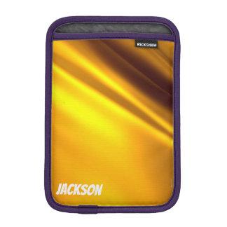 Golden leaf iPad mini sleeve