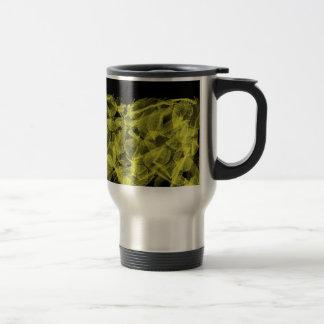 Golden Leaf 15 Oz Stainless Steel Travel Mug