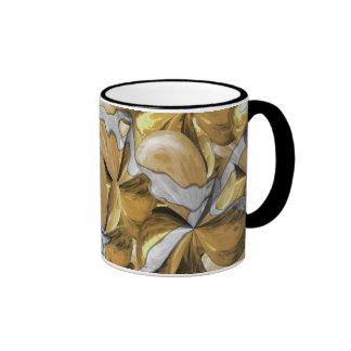 Golden Leaf Ringer Mug