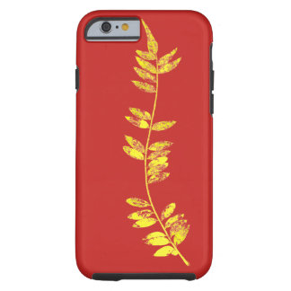 golden leaf tough iPhone 6 case
