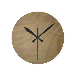 GOLDEN Leaf Vintage Impression Graphic GIFTS Clock