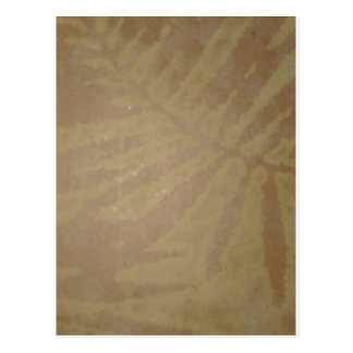 GOLDEN Leaf Vintage Impression Graphic GIFTS Postcard