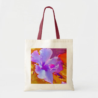 Golden leafs budget tote bag