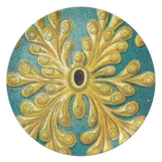 golden leaves cover plate