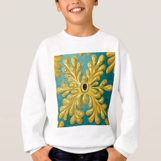 golden leaves cover sweatshirt