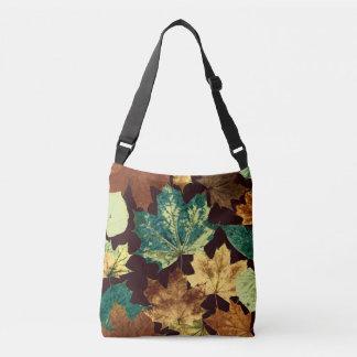 Golden Leaves Crossbody Bag