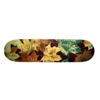 Golden Leaves Skateboard