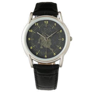 Golden Leo Watch