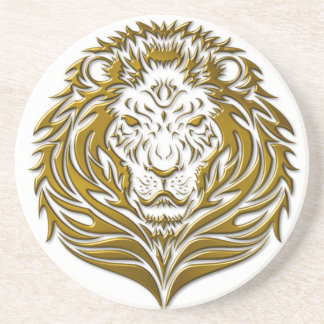 Golden Leonine Coaster