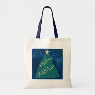 Golden Light of Christmas Tote Bag