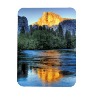 Golden Light on Half Dome Magnet