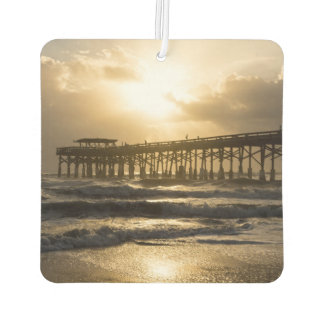 Golden Light Over Cocoa Car Air Freshener
