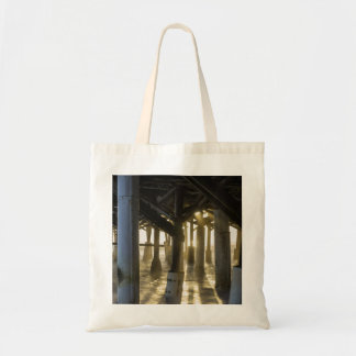Golden Light Shines Through Tote Bag