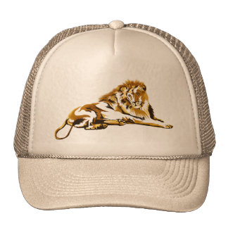 Golden Lion Hat