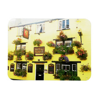 Golden Lion Hotel Padstow Cornwall England Rectangular Photo Magnet