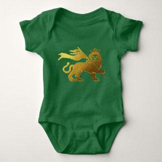 Golden Lion of Judah Baby Bodysuit