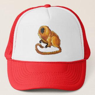 golden lion tamarin trucker hat