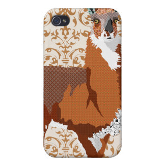 Golden Llama i iPhone 4 Case