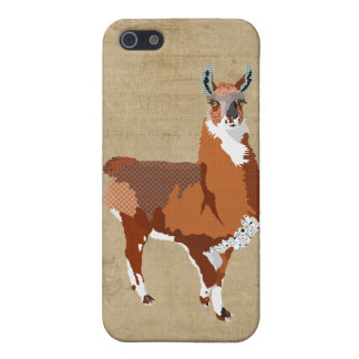 Golden Llama iPhone Case Cover For iPhone 5