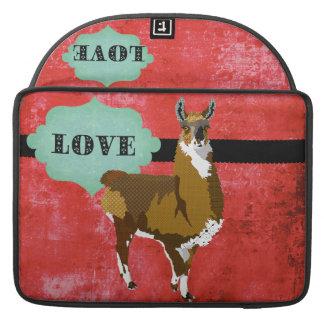 Golden Llama Love Mac Book Sleeve Sleeve For MacBook Pro