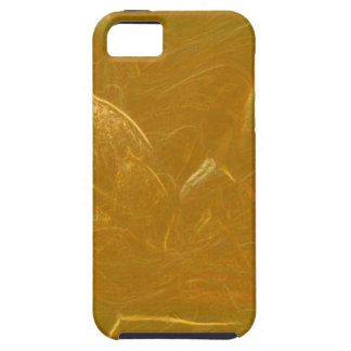 GOLDEN LOTUS Artistic Gold Foil Art Tough iPhone 5 Case