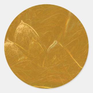 GOLDEN LOTUS BLANK TEMPLATE ARTISTIC LABEL DECO GI