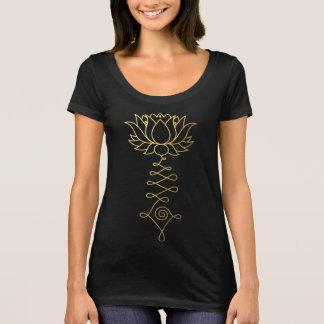 Golden Lotus Boho Women's Scoop Neck T-Shirt