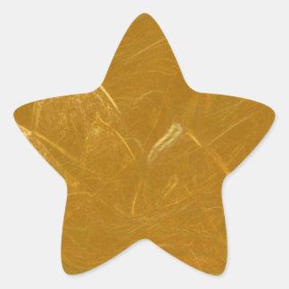 GOLDEN LOTUS FLOWER DECORATIVE GIFTS STAR STICKER