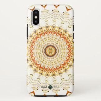 Golden Mandala iPhone X Case