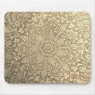 Golden mandala mouse pad. mouse pad