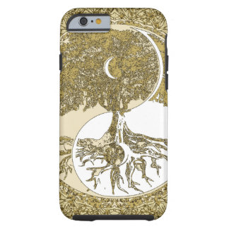 Golden Mandala Yin Yang Tough iPhone 6 Case