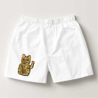 Golden Maneki Neko Boxers