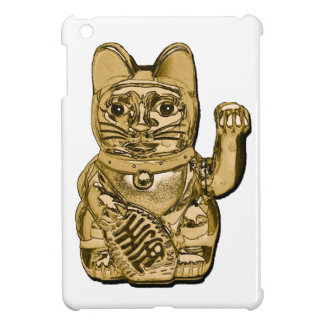 Golden Maneki Neko iPad Mini Case