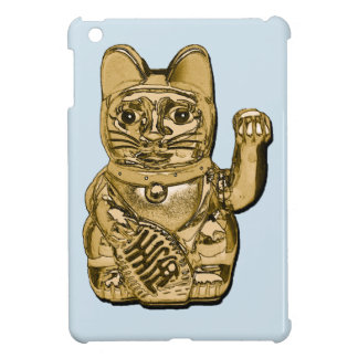 Golden Maneki Neko iPad Mini Covers