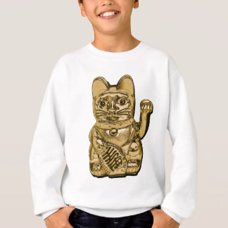 Golden Maneki Neko Sweatshirt